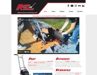 rapidroofremover.com screenshot