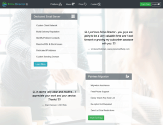 rapidsmtp.com screenshot