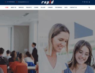 rapidtechs.co.in screenshot