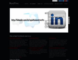 rapidtimenetworks.com screenshot