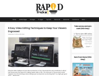 rapidtricks.com screenshot