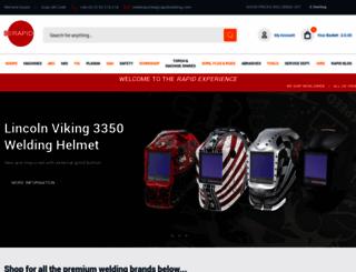 rapidwelding.com screenshot