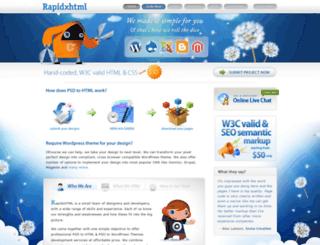 rapidxhtml.com screenshot