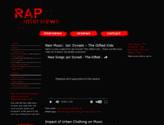 rapinterview.com screenshot