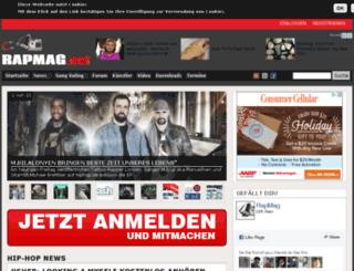 rapmag.net screenshot