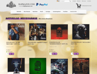 rapmazon.com screenshot