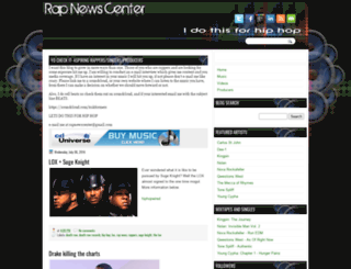 rapnewscenter.blogspot.fr screenshot