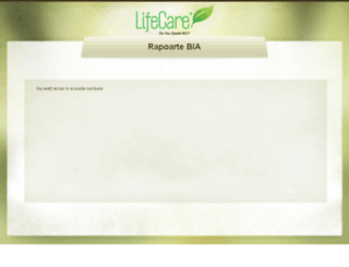 rapoarte.life-care.ro screenshot