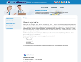 rapofarm.pl screenshot