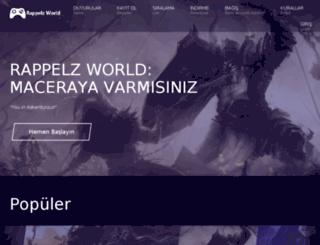 rappelzworld.com screenshot