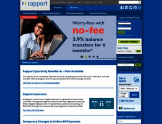 rapportcu.ca screenshot