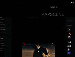 rapscene.com screenshot