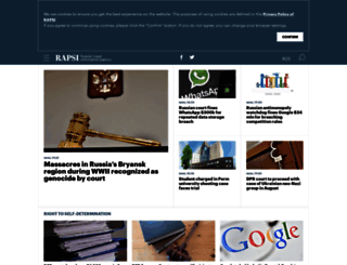 rapsinews.com screenshot