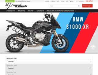 raptorexhaust.com screenshot
