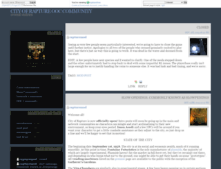 rapturefree.dreamwidth.org screenshot