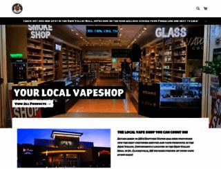 rapturevapor.com screenshot