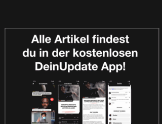 rapupdate.de screenshot