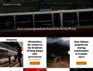 raquelcarvalhoinchina.wordpress.com screenshot