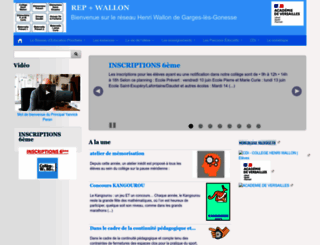 rar-wallon-garges.ac-versailles.fr screenshot