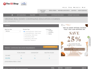 rarealtors.theceshop.com screenshot