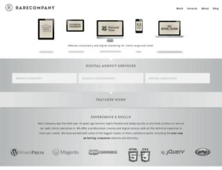 rarecompany.co.uk screenshot