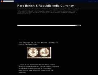 rarecurrency.blogspot.com screenshot