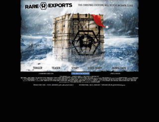 rareexportsmovie.com screenshot