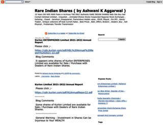 rareindianshares.info screenshot