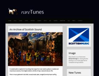 raretunes.org screenshot