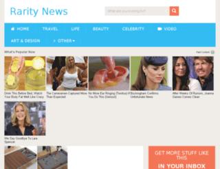 raritynews.com screenshot