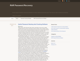 rarpasswordrecovery.wordpress.com screenshot