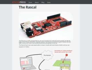 rascalmicro.com screenshot