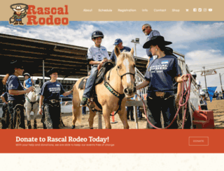 rascalrodeo.org screenshot