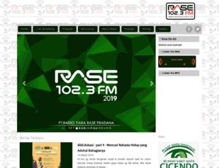 rasefm.com screenshot