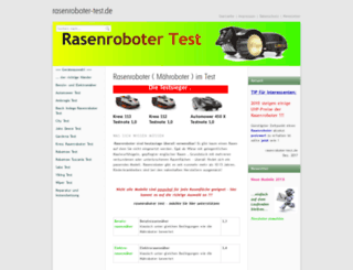 rasenroboter-test.de screenshot