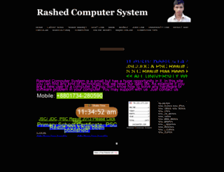 rashed50.yolasite.com screenshot