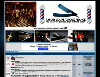 rasoircoupechoux.forumgratuit.org screenshot