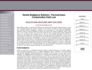 rasoolsolicitors.com screenshot