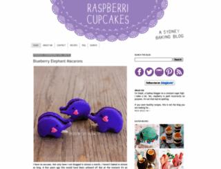 raspberricupcakes.com screenshot