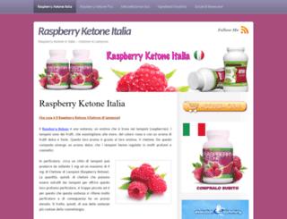 raspberry-ketone.it screenshot