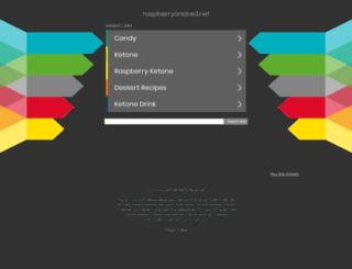 raspberryandred.net screenshot