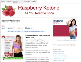 raspberryketone4u.com screenshot