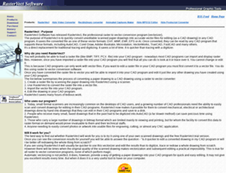 rastervect.com screenshot