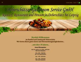 rasthof-doberschuetz.de screenshot