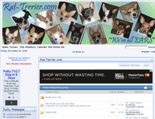 rat-terrier.com screenshot