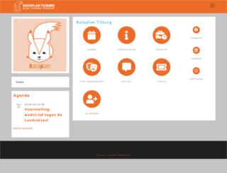rataplantilburg.nl screenshot