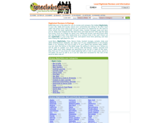 rateclubs.com screenshot