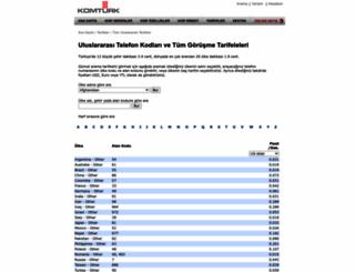 rates.komturk.com screenshot