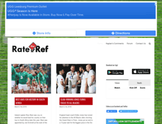 ratetheref.co.za screenshot