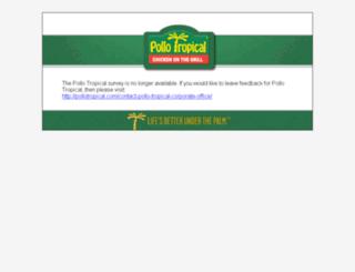 rateus.pollotropical.com screenshot
